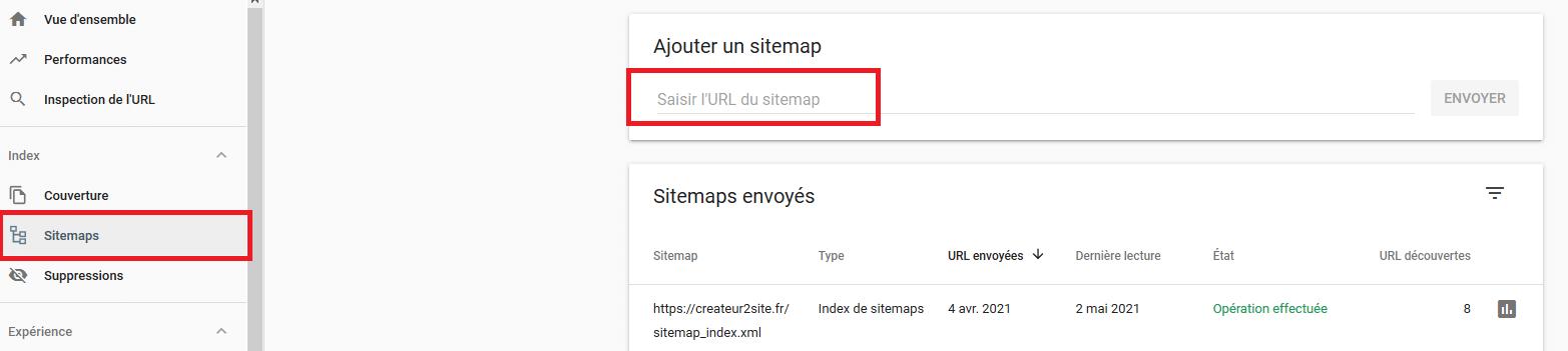 Comment soumettre son sitemap.xml sur la Google Search Console