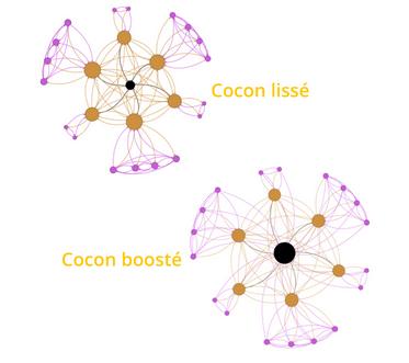 Aller plus loin avec le cocon sémantique : le cocon lissé ou cocon boosté